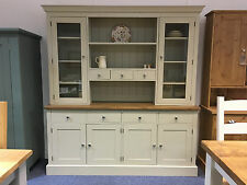 NEW 6' GLAZED WELSH DRESSER KITCHEN UNIT. CAN BE MADE ANY SIZE OR COLOUR!
