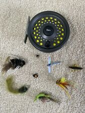 Orvis Fly Fishing Reel with Flies/lures