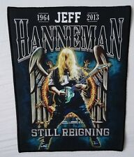 Jeff Hanneman Still Reigning Tribute Backpatch Rückenaufnäher Aufnäher SLAYER