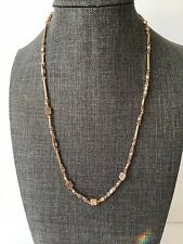 New !! Kendra Scott Rhett Necklace In Blush Mix Choker Rose Gold