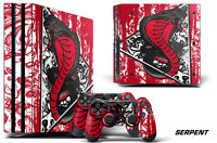 Skin Decal Wrap For PS4 PRO Playstation 4 Pro Console + Controller Stickers SRPT