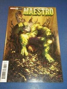 Maestro #3 Variant NM Gem Hulk