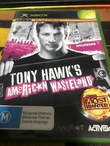 Xbox Original - Tony Hawk's American Wasteland complete With Manual