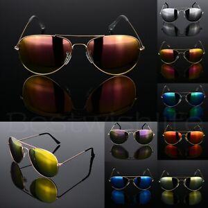 Polarized Pilot Sunglasses Retro Sunglasses Retro Glasses Mens Women's UV400