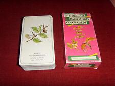 Jeu de cartes fleurs de Bach et couleurs oracle tarot original flower color card