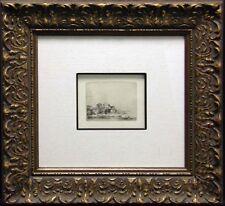 """Rembrandt """"Landscape with a cow"""" custom Framed & COA  MAKE AN OFFER L@@K!"""