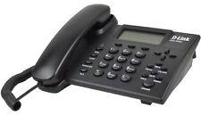 D-LINK DPH-150SE VOIP SIP IP Phone LCD display QOS LAN Echo Cancel Memory Keys
