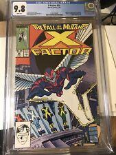 X-Factor 24 (CGC 9.8) White pages; Origin/1st app. Archangel Marvel Comics 1988
