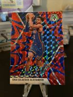 2019 2020 Mosaic Basketball Shai Gilgeous Alexander Blue Reactive Prizm 133