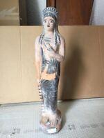 Riproduzione statua TERRACOTTA 52 cm ST42 scultura greco romano antica LEKYTHOS