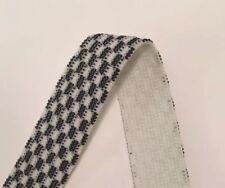 Premium Knit Elastic 25 Mm Black & White Check Per 2 Metres Non Roll Waist Band
