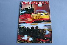X233 MARKLIN Train catalogue Ho 1971 74 pages 29,7*21 cm F