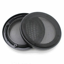 "Pair 5.5"" Speaker ABS Coaxial Steel Mesh Grill Cover Woofer Mask Protector 164MM"