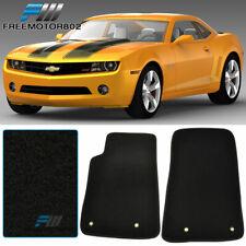 Black Coverking Custom Fit Front and Rear Floor Mats for Select Chevrolet Camaro Models Nylon Carpet CFMBX1CH9224