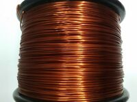 "Essex Magnet Wire, 10 AWG Gauge, 0.1054"" 1 LB 31ft, Enameled Copper Coil Winding"