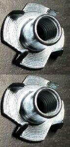 2x Ikea  Feet /  Leg Holder M8 Steel Part # 100751