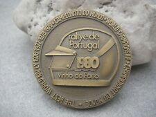 Plakette Medaille ACP - RALLYE DE PORTUGAL 1980 - WELTMEISTERSCHAFT CHAMPIONNAT