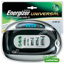 Energizer 3 Hour Universal Rechargeable Battery Charger for AA AAA C D & 9V