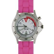 Nurse Watch Pink Nursing Medical Pulse Quadrant Light Up Dial Womens Wristwatch