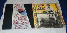 "Paul McCartney Lot of 2 Apple LPs: S/T STAO 3363 & ""Ram"" , 3375 EC/EC- Beatles"