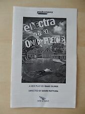 2010 - Wild Project Theatre Playbill - Electra In A One-Piece - Chris Bannow