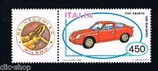 ITALIA UN FRANCOBOLLO MACCHINA FIAT ABARTH AUTO APP. 1985 nuovo**
