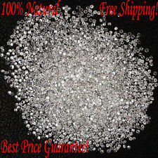 REAL 100% NATURAL Loose 50 Round Diamonds Clarity-I1-I3 Color-G-H White Free SP
