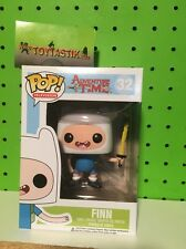 Funko Pop Vinyl Television Adventure Time Finn with Sword Hot Topic Exclusive