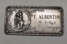 anc plaque pour automobile saint Christophe ( s.g.h.j  Indochine ) militaire ??