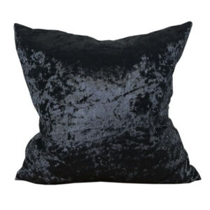 CURCYA Ice Crushed Velvet Throw Pillow Cover Case Polyester Sofa Cushion Covers