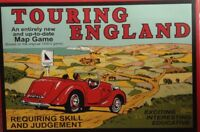 TOURING ENGLAND MAP GAME MIB COMPLETE WITH INSTRUCTIONS