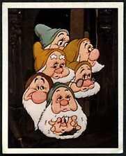 7 Dwarfs #80 Snow White And The Seven Dwarfs 1987 Panini Disney Sticker (C1390)