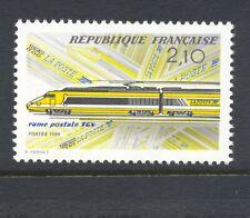 France 1984 SG 2641 Railway TGV MNH