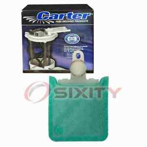 Carter Fuel Pump Strainer for 1992-1995 Mitsubishi Expo 2.4L L4 Air Delivery od