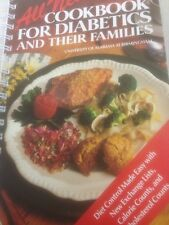 Diabetic Cookbook Unverified Alabama Spiral Softcover Cook book