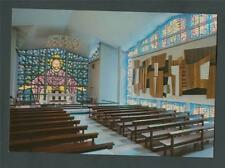 Buckfast Abbey. Chapel Blessed Sacrament. Windows, Monks,    postcard. z.158