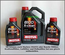 de Berlín ACEITE DE MOTOR MOTUL 8100 X-CLEAN C3 5w-30 7 LITROS 5w30