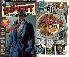 signed WILL EISNER 1st print THE SPIRIT new adventures 1 1997 KITCHEN SINK COMIC