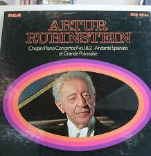 "ARTUR RUBINSTEIN CHOPIN CONCERTOS -RCA ROSSO GUARNIZIONE 12""LP(k480)"