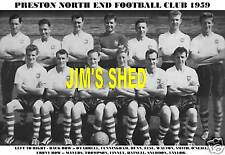 PRESTON NORTH END F.C.TEAM PRINT 1959