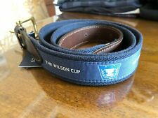 1 NWT VINEYARD VINES MEN'S BELT - SIZE 38 - NAVY BLUE (WILSON CUP)