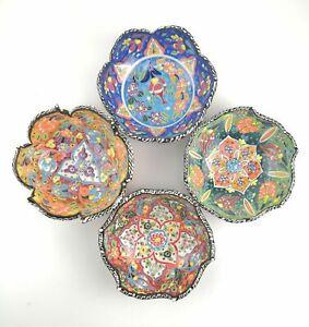 Hand Painted Ceramic Bowls(15 cm) - Handmade Turkish Pottery