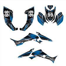 TRX300EX Graphics for Honda TRX 300 EX decals 2007 - 2013 #3333 Blue