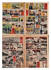 1958 DOCUMENT (ref Lim 0492) RC BD : LA BATAILLE DU SAINT GEORGE'S DAY  4 pages