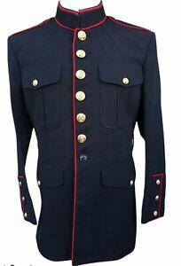 USMC US Marines Dress Blue Jacket 44R DSCP Military