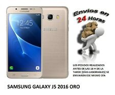 Telefono Movil SAMSUNG Galaxy J5 2016 Color ORO SMARTHPHONE LIBRE. 16GB, 4G