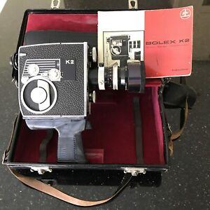 Paillard Bolex K2 Cine Camera 1964 Vintage