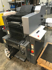 Heidelberg Quickmaster Two Color Offset Press with Quicksetter 300e Platemaker
