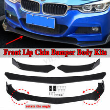 Front Bumper Lip Body Kit Spoiler For BMW E90 E91 E92 E93 F30 F80 F10 F18 E46