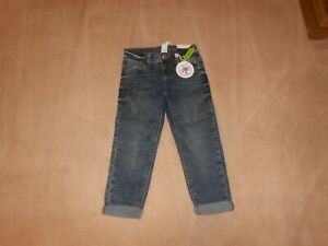 NEW, GIRLS JUSTICE DESTRUCTED GIRLFRIEND JEANS, RINSE WASH, SIZE 6